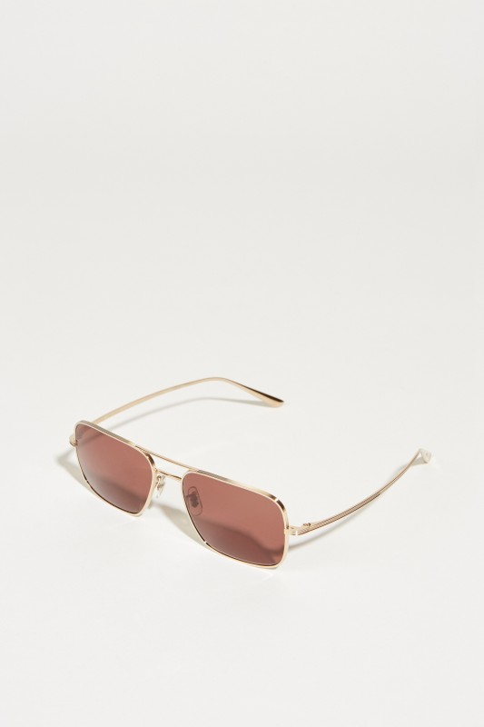 Oliver Peoples Sonnenbrille x The Row 'Victory L.A.' Rosé