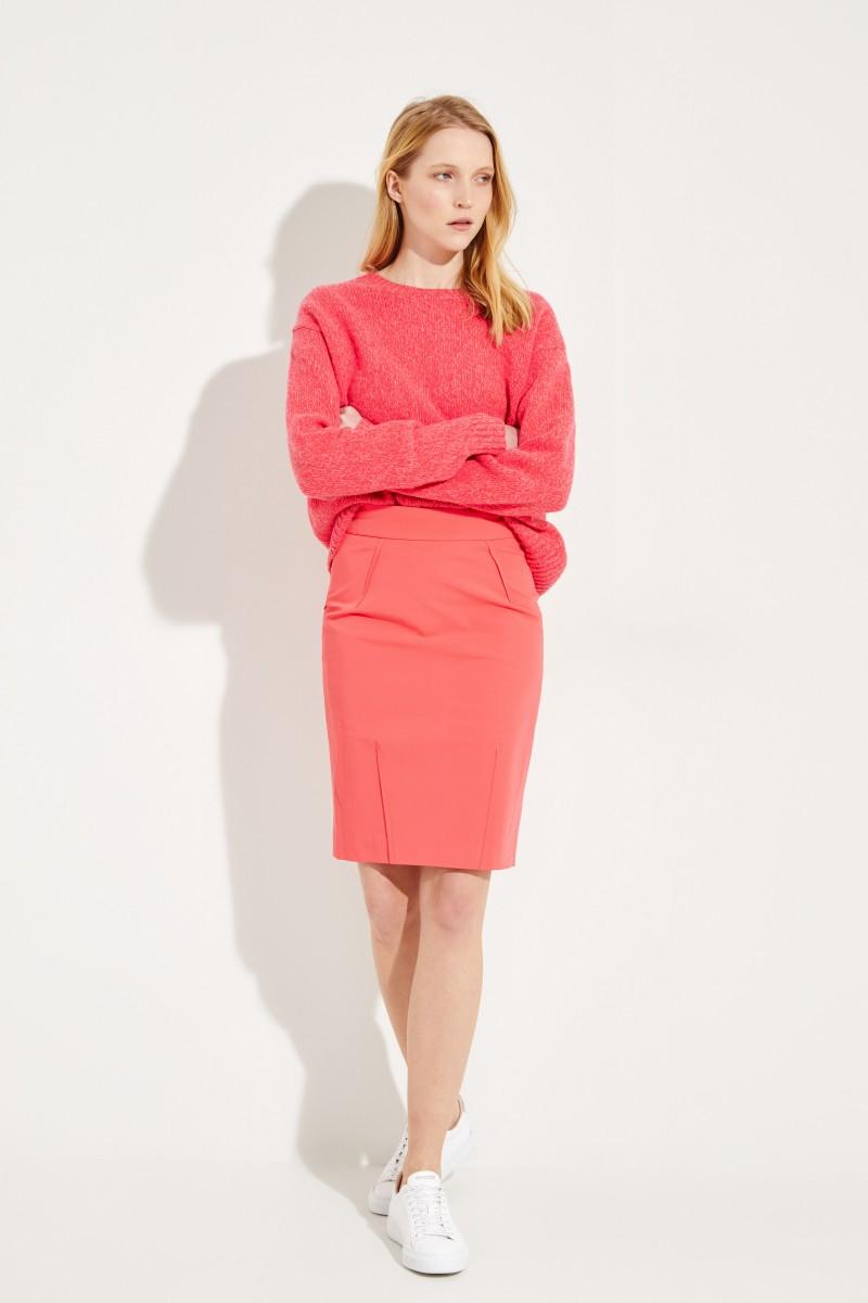 Bleistiftrock 'Janine' Pink