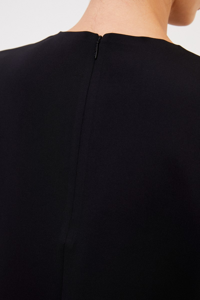 The Row Kurzarm-Shirt 'Gaspar' Schwarz