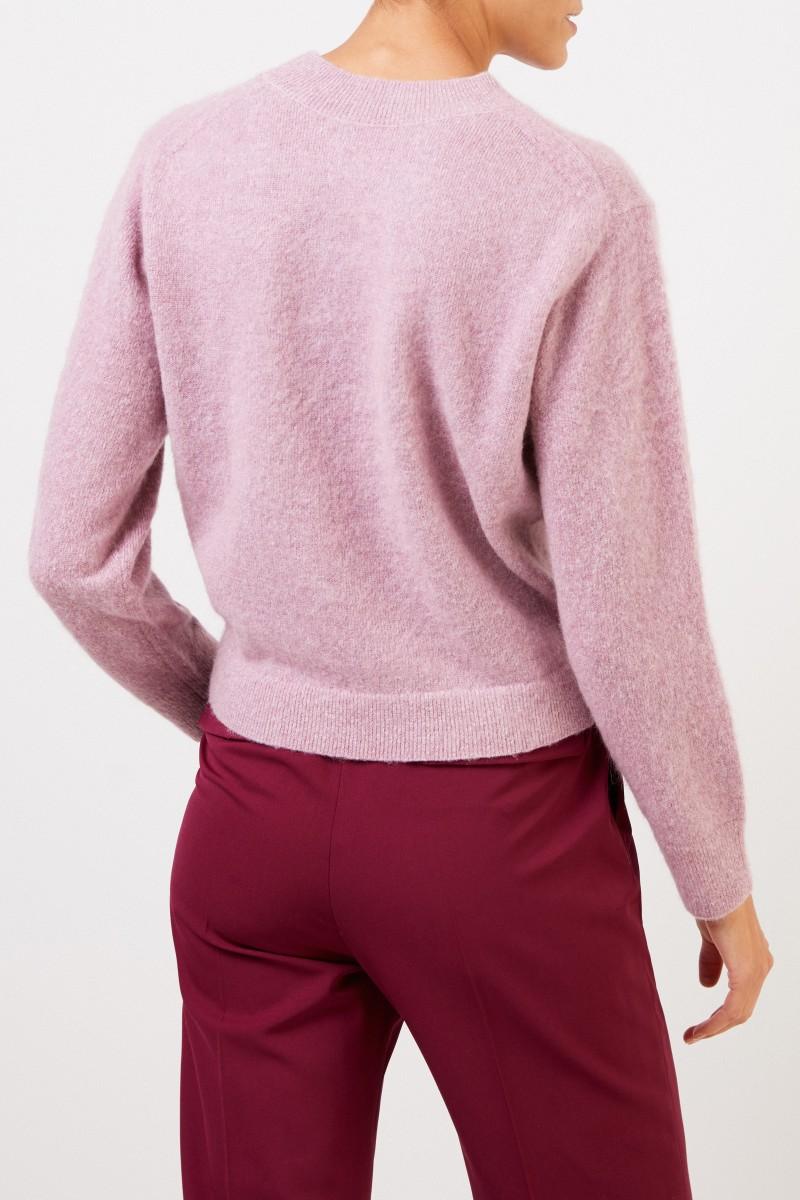 Vince Klassischer Pullover in Rosé Meliert