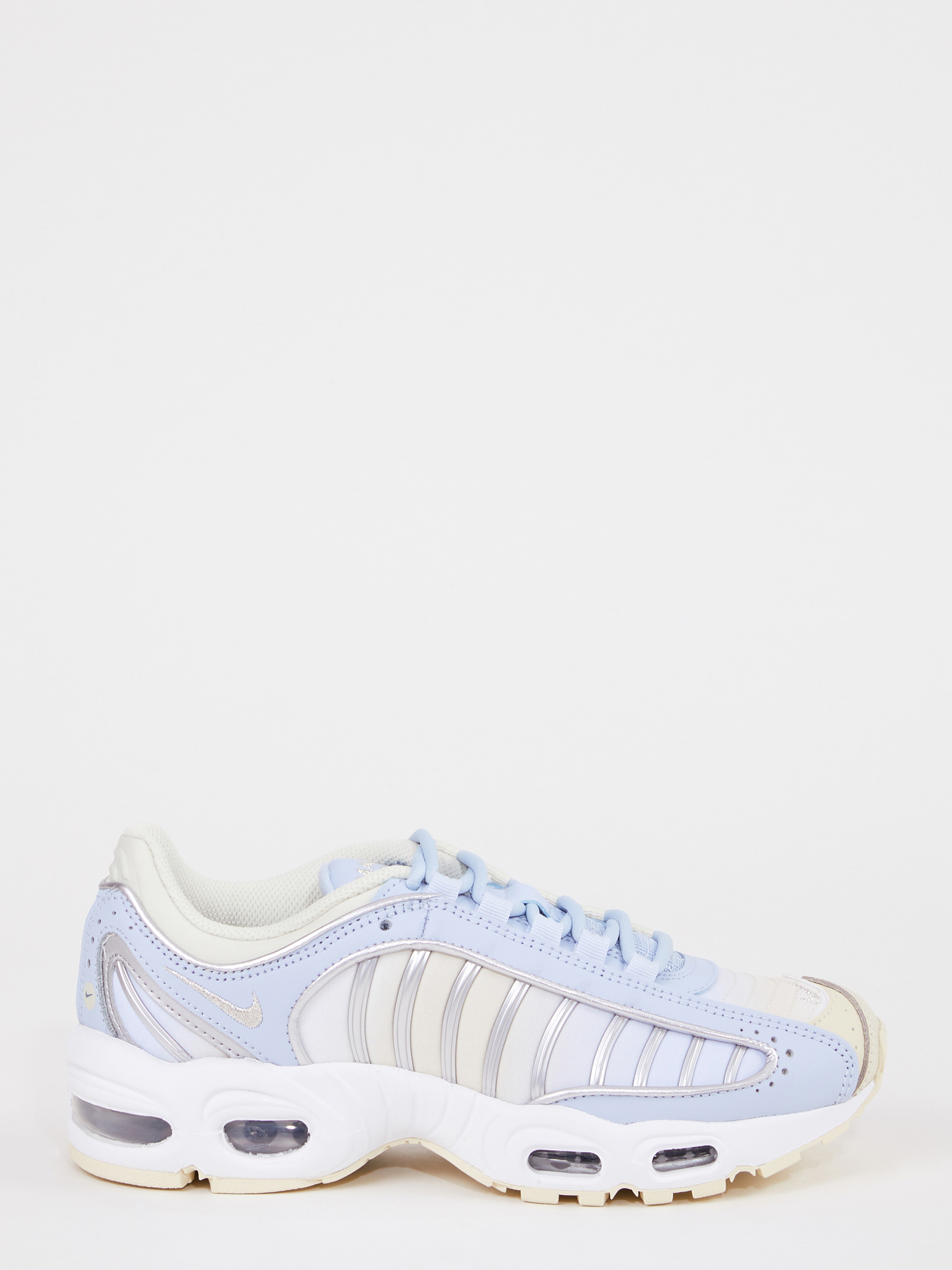 blue and cream sneakers