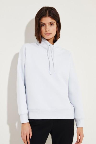 Baumwoll-Sweatshirt Blau