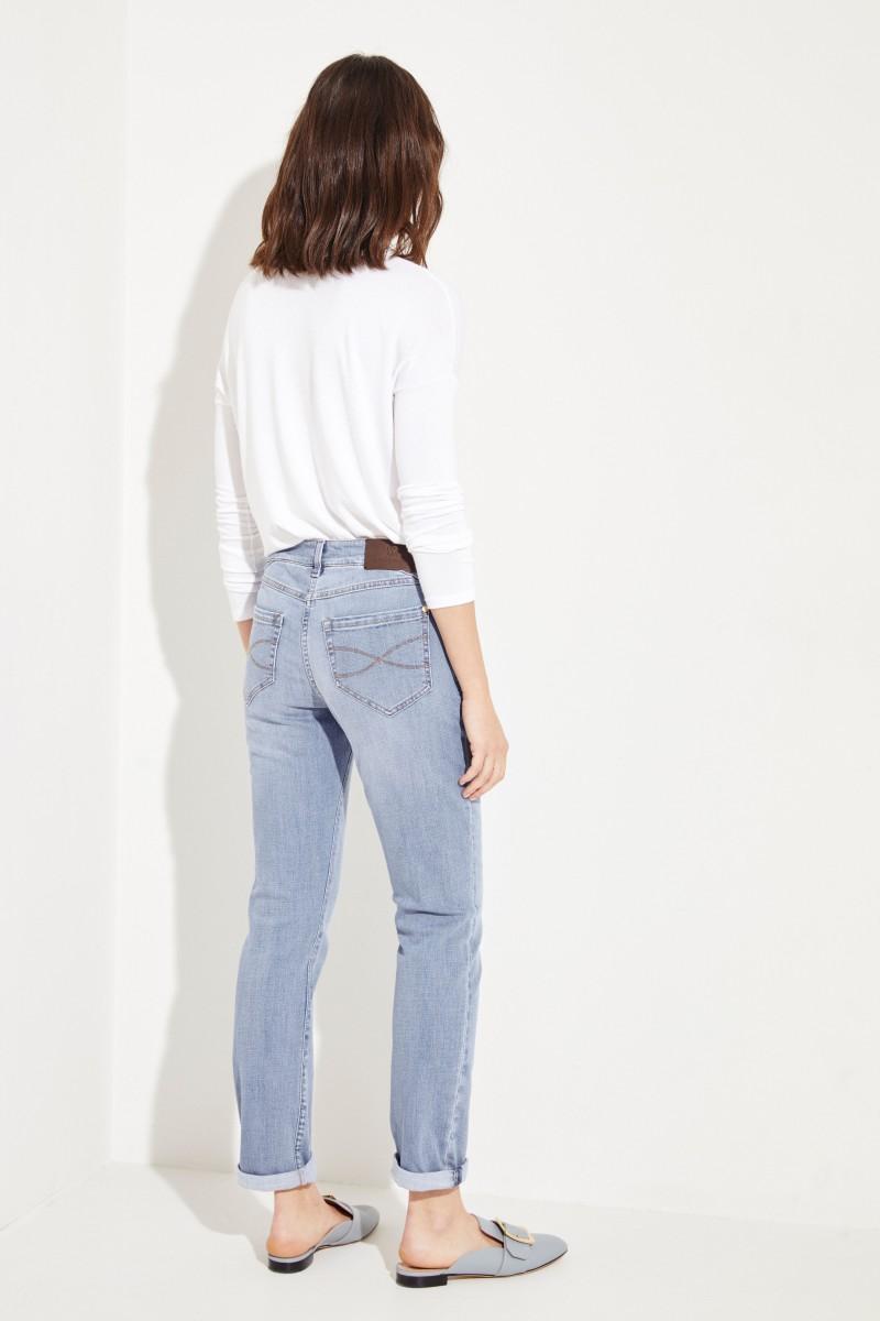 Skinny-Jeans Hellblau