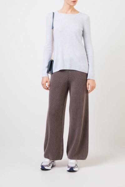 Cashmere-silk sweater 'Tami' Ice Blue