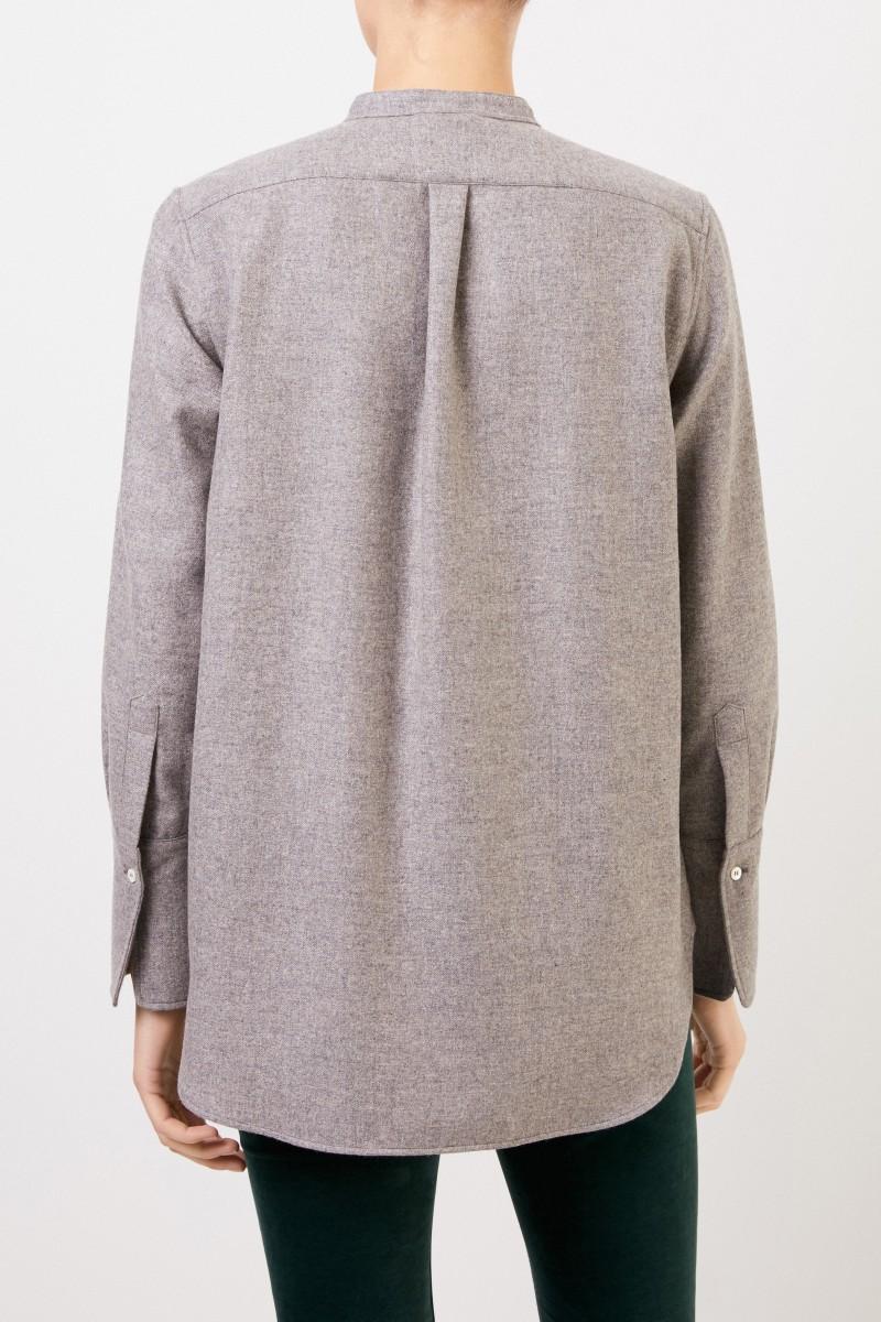 Aspesi Cashmere-Bluse Grau