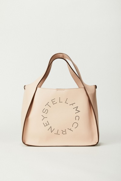 Shopper mit Stella-Logo 'Crossbody Logo Bag' Powder