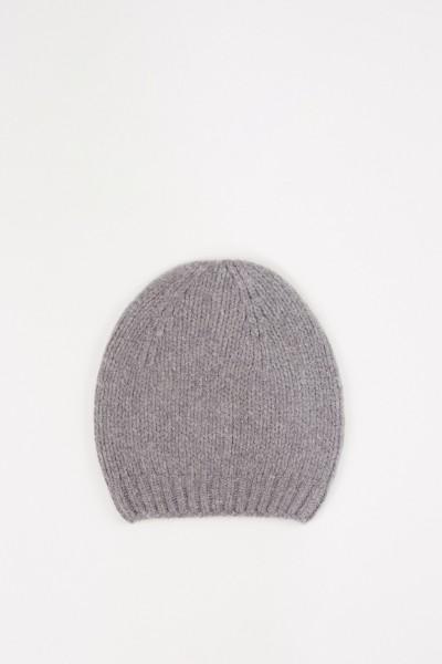 Fabiana Filippi Woll-Mütze Grau
