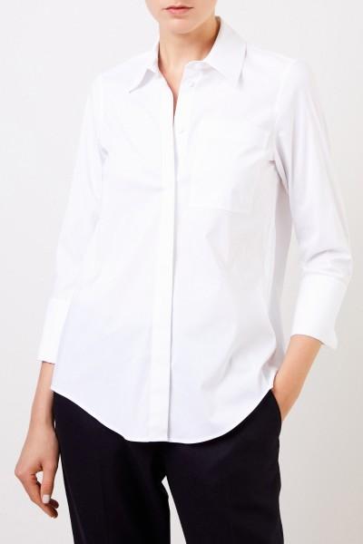 Steffen Schraut Classic blouse with wide cuff White