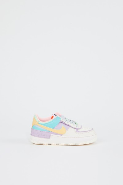 Nike Plateau-Sneaker 'Air Force 1' Créme/Flieder