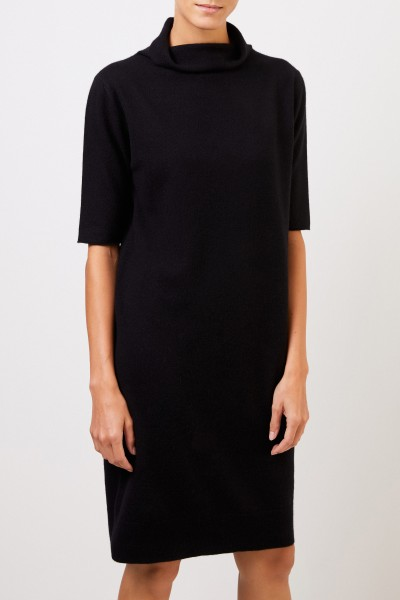 Fabiana Filippi Cashmere knitted dress Black