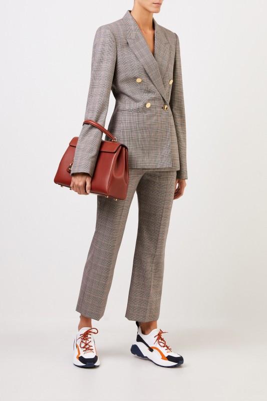 Stella McCartney Karierter Blazer 'Beaufort' Multi