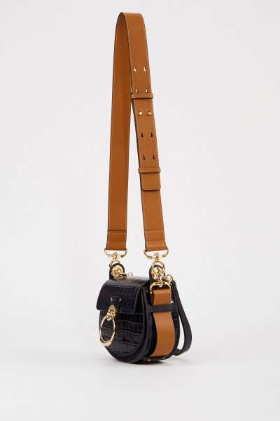 Chloé Shoulder Bag 'Tess Small' Nut