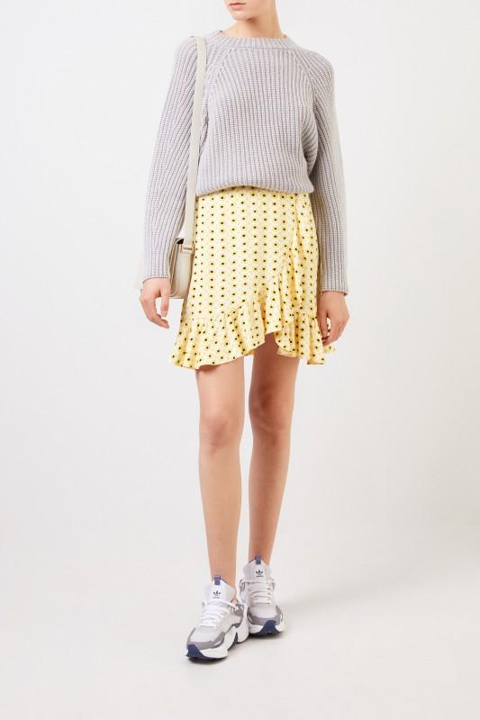 f965090ea48 Printed mini skirt 'Printed Crepe' Multi | Mini skirts | Skirts ...