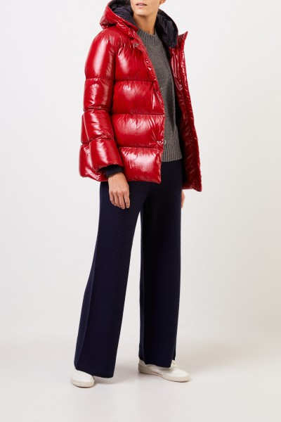 Fay Down jacket with hood Red