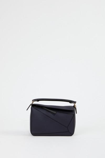 Loewe Tasche 'Puzzle Bag Small' Blau/Schwarz