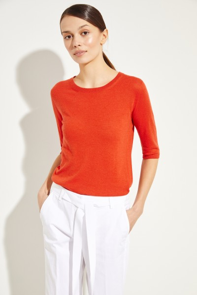 Cashmere sweater 'Lynn' Red