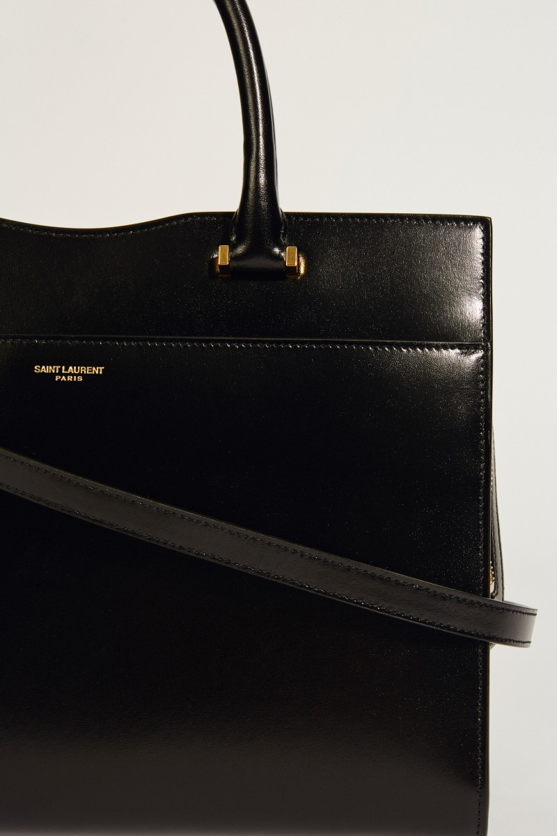 4047728ac9fea Leather Case  YSL New Line  Black