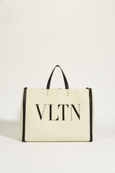 Shopper 'VLTN Large' Beige