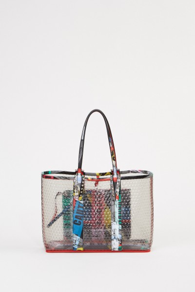 Shopper mit Nietendetails 'Cabata Small' Multi