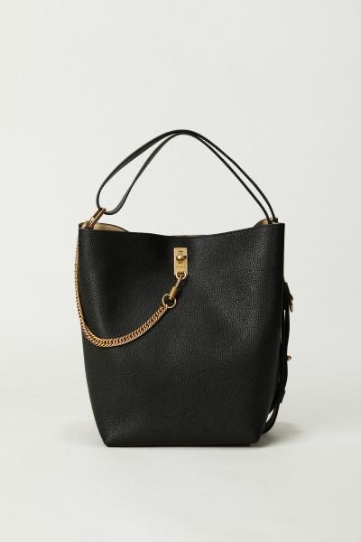 Shopper 'GV Bucket' mit Kettendetail Schwarz