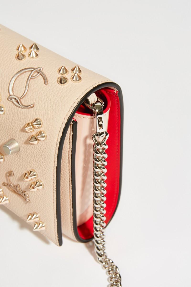 Tasche 'Paloma Clutch' mit Nietendetails Rosé