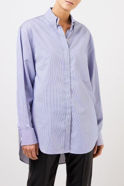 Joseph Blouse with stripe pattern Blue/White