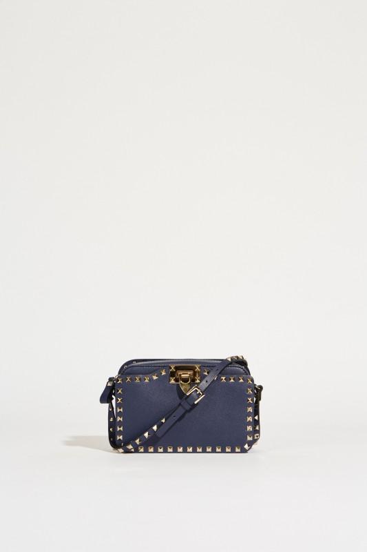 Umhängetasche 'Rockstud Camera Bag' Marineblau
