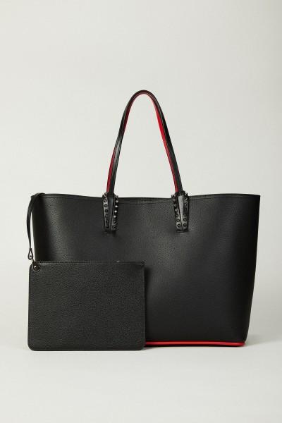 Shopper mit Nieten-Details 'Cabata' Schwarz