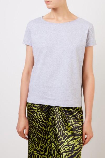 Acne Studios Klassisches T-Shirt 'Eldora Mel Base' Grau
