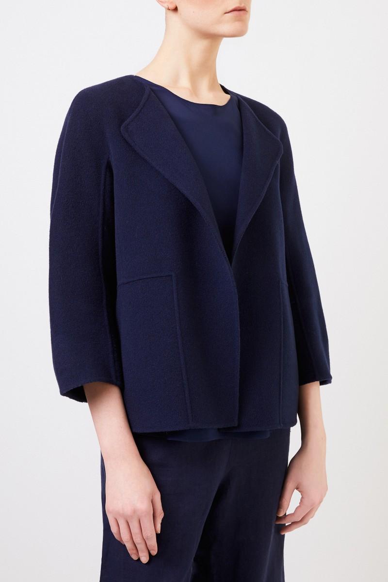 Iris von Arnim Cashmere-Jacke 'Eadie' Blau