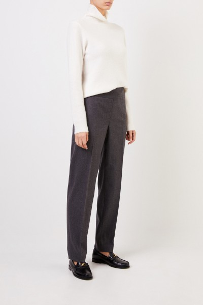 Classic wool pants Anthracite