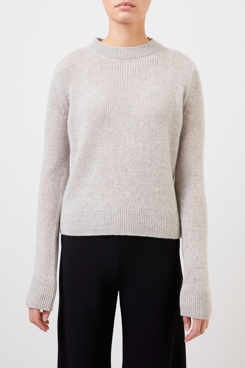 The Row Cashmere-Pullover 'Muriel' Hellgrau