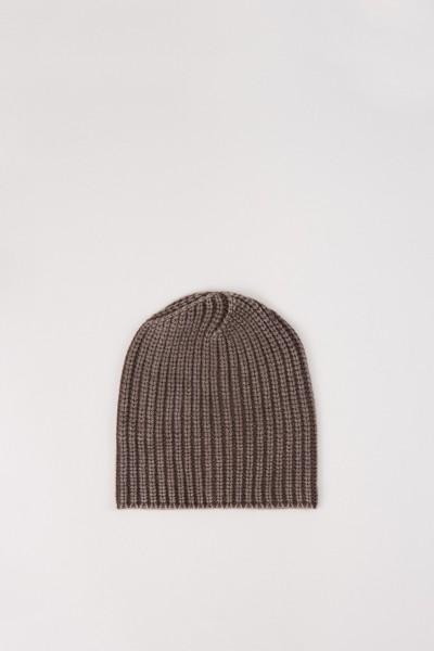 Cashmere-Mütze 'AMEEL' Marrone