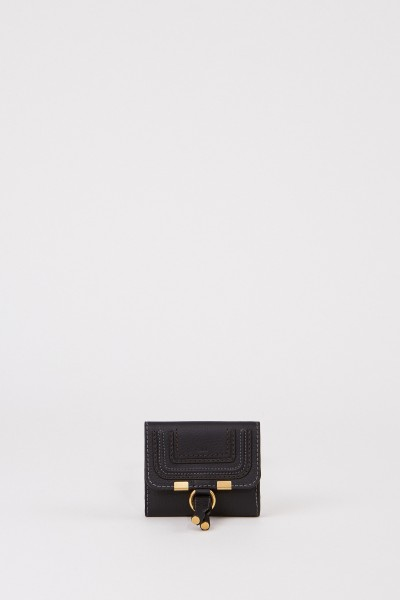 Wallet 'Alphabet' Black