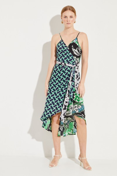 e363290399 Diane von Furstenberg Wrap Dress  Katsia  with Volant-Detail Multi €439.00  34 36 38 40
