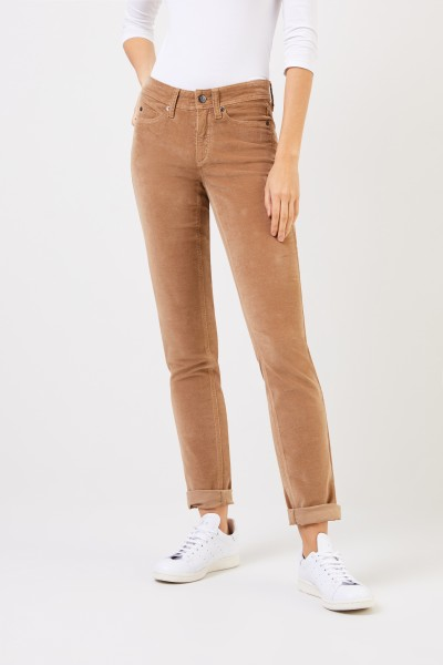 Cambio Cord Pants 'Parla' Camel