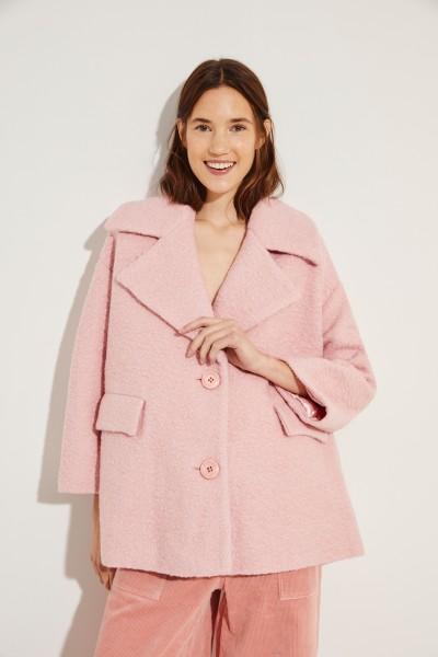 Oversize-Woll-Mantel 'Fenn' Rosé