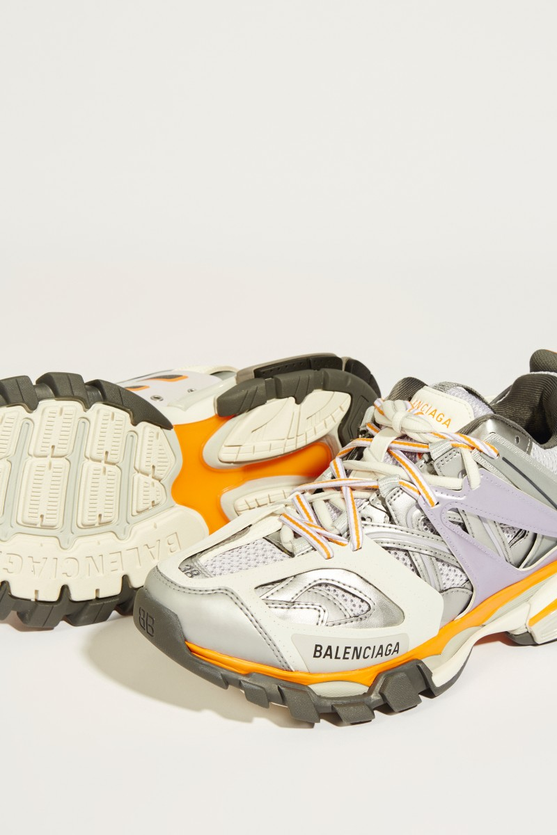 Sneaker 'Track' Grau/Multi