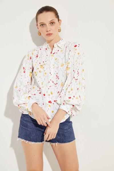 Bluse mit floralem Print 'Marcilly' Multi