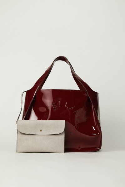 Shopper mit Stella-Logo 'Tote' Bordeaux