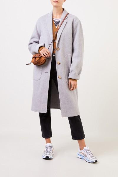 Acne Studios Wool coat 'Oluma Double' Light Grey
