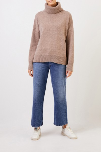 AGOLDE High-Waist Jeans 'Ren' mit Waschung Blau