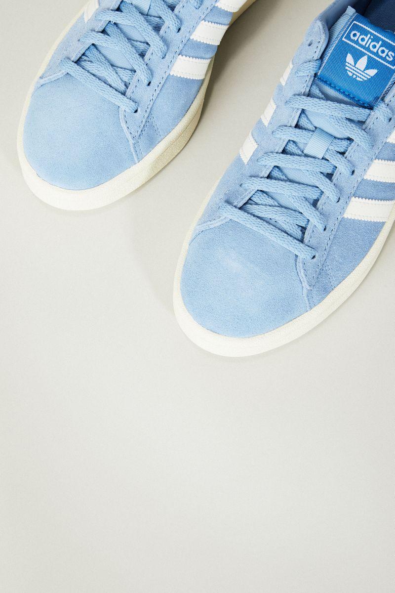 Leder Sneaker 'Campus W' Blau