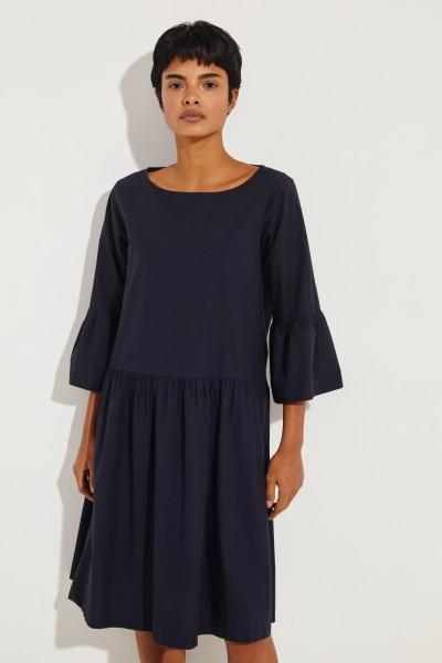 Baumwoll-Kleid 'Rittana' Marineblau