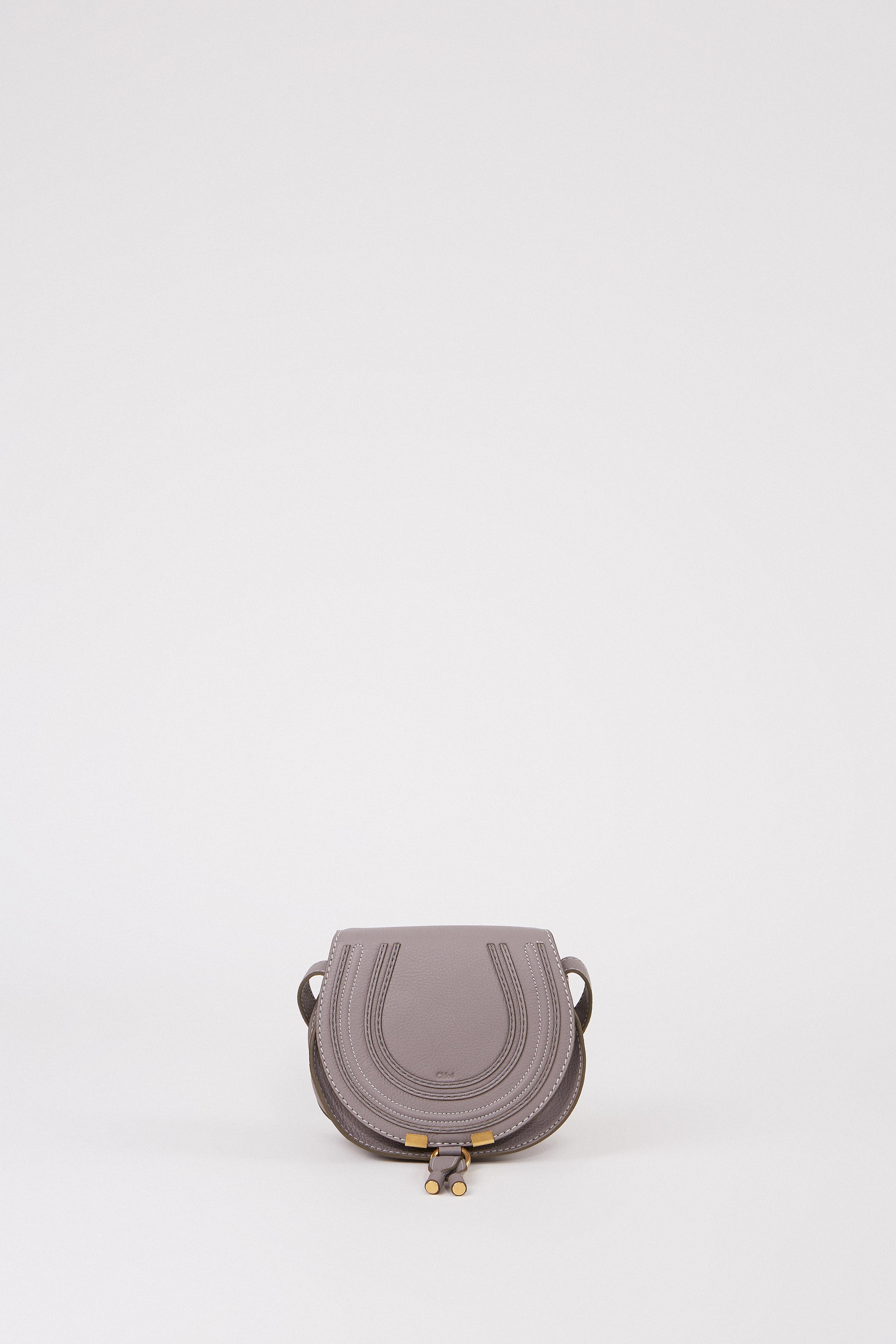 e72951b8 Shoulder Bag 'Marcie Saddle Small' Cashmere Grey