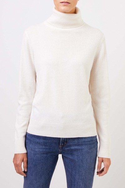 Uzwei Cashmere turtleneck sweater White