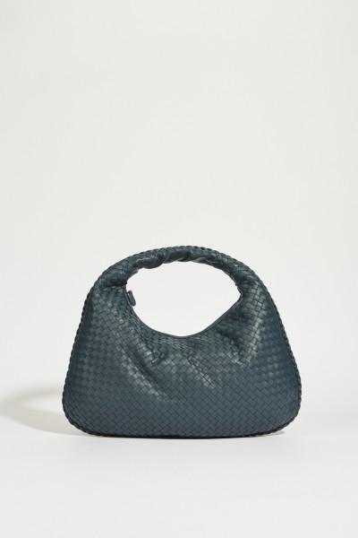 Geflochtener Shopper 'Veneta Hobo Big' Blau
