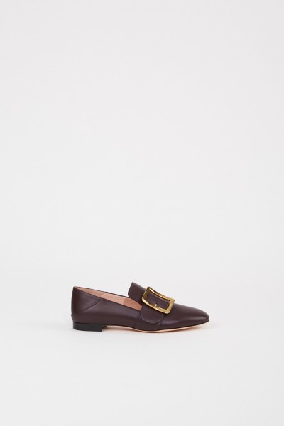 Bally Leather loafer 'Janelle' Violet