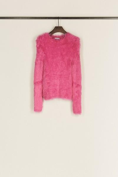 Weicher Pullover Pink