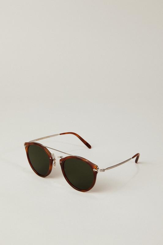 Sonnenbrille 'Remick' Braun/Silber